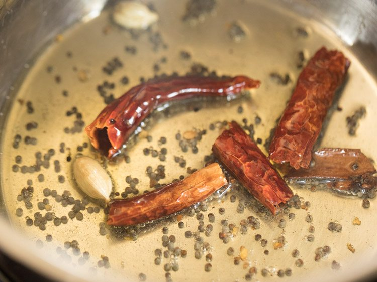 making tapioca curry recipe