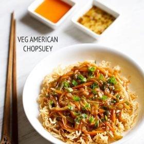 veg american chopsuey recipe