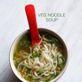 noodle soup, veg noodle soup recipe