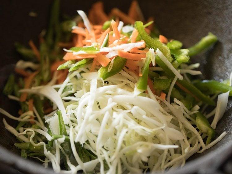 making vegetable noodle soup recipe