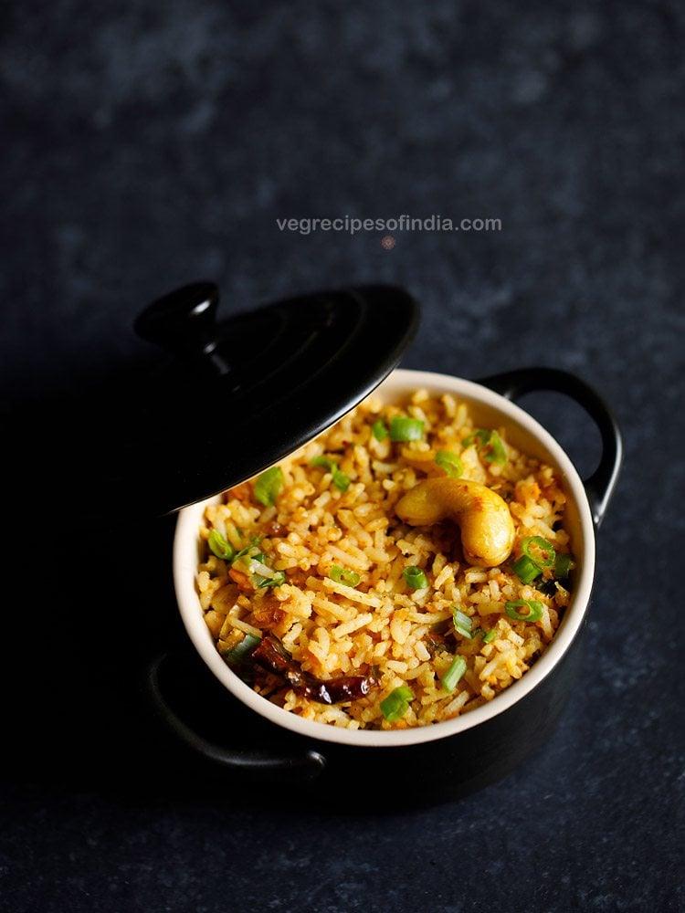 veg singapore fried rice recipe