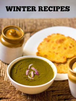 winter special veg recipes | collection of 70 best indian winters recipes