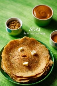 adai recipe | adai dosa recipe | how to make adai (protein rich pancake)
