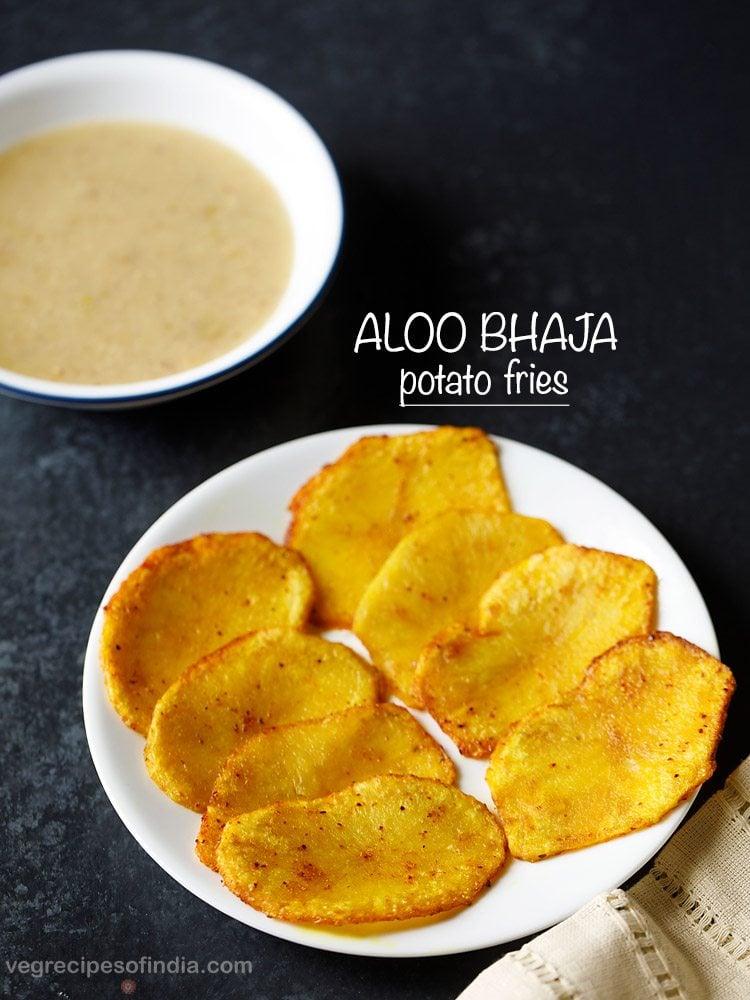 aloo bhaja, aloo bhaja recipe