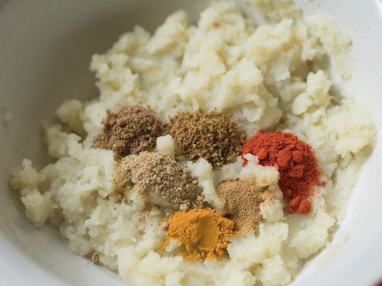 spices to make aloo tikki chaat recipe