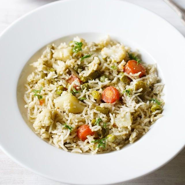 brinji rice recipe, brinji sadham recipe