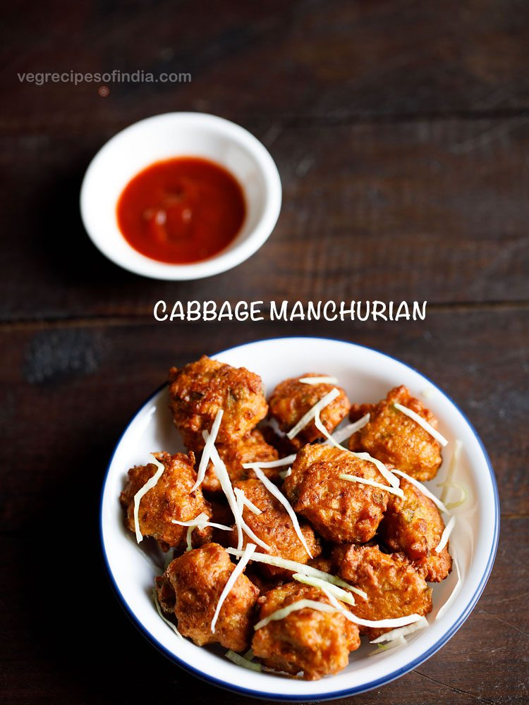 cabbage manchurian recipe