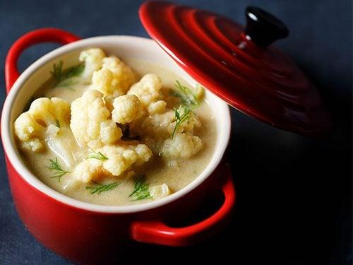 cauliflower kurma recipe