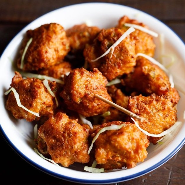 chinese pakoda recipe, cabbage manchurian recipe