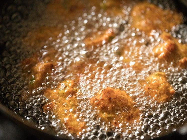 making chinese pakora recipe