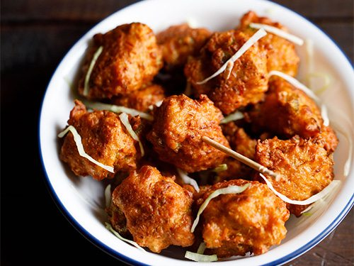 Chinese pakoda recipe