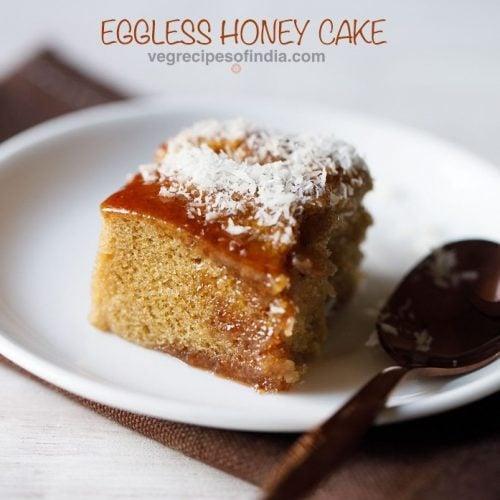 honey cake recipe, indian bakery style honey cake recipe