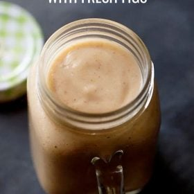 Figs smoothie