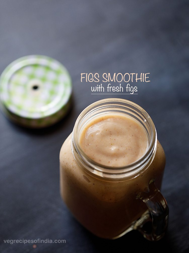figs smoothie recipe