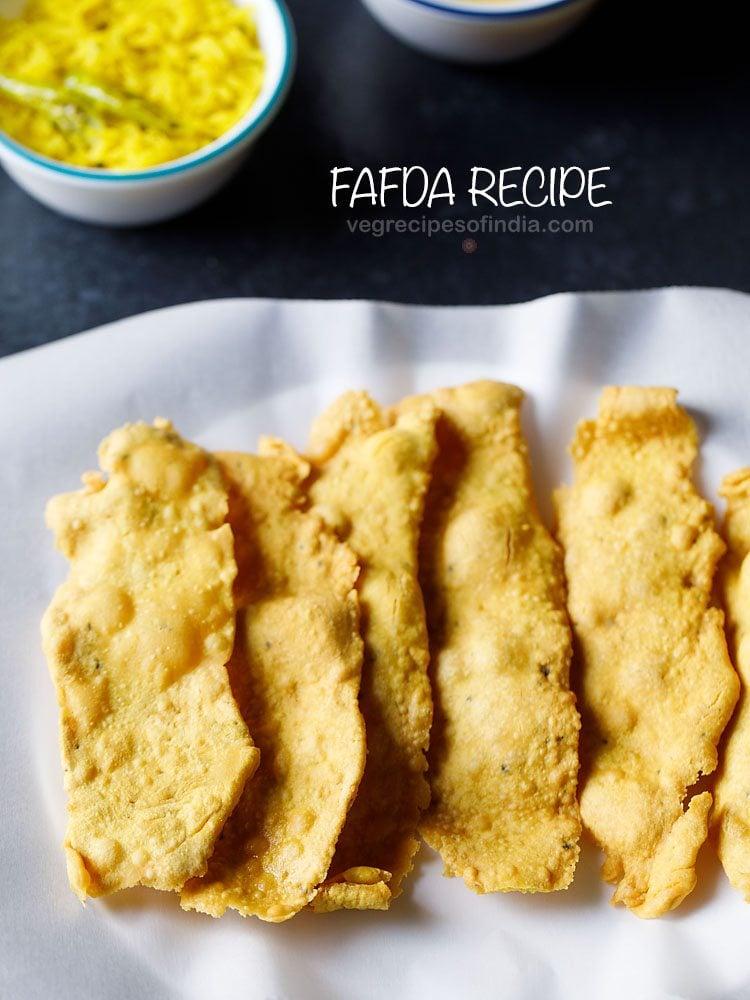 gujarati fafda recipe