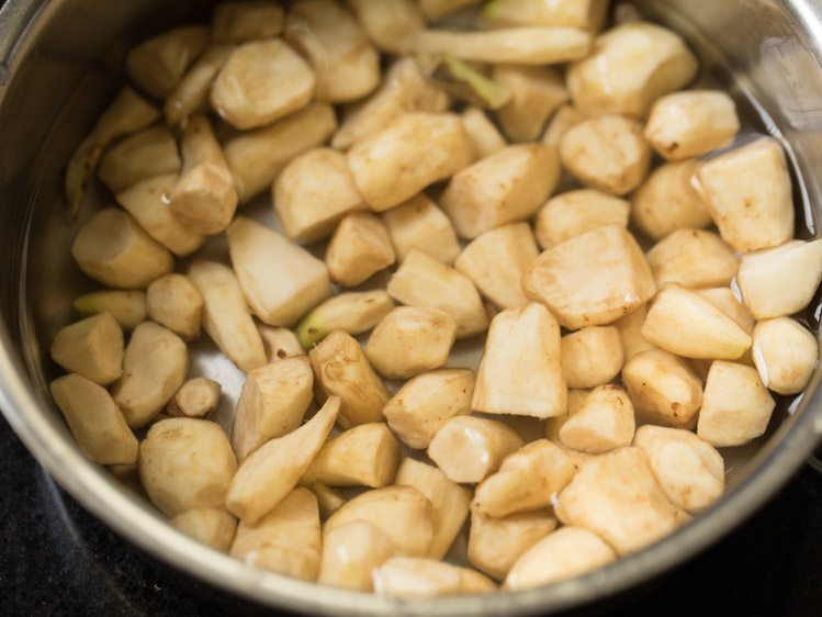 making koorka masala recipe