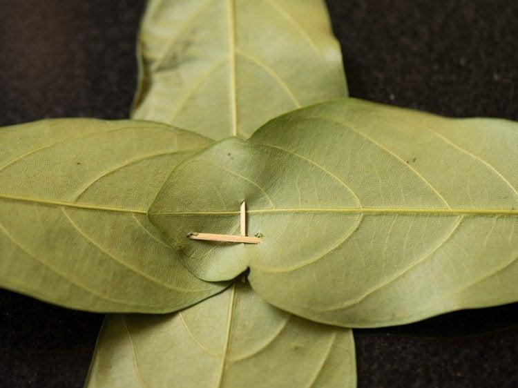 jackfruit leaves for making kotte kadubu recipe