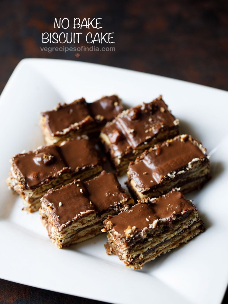 Biscuit Cake Recipe How To Make Biscuit Cake Parle G