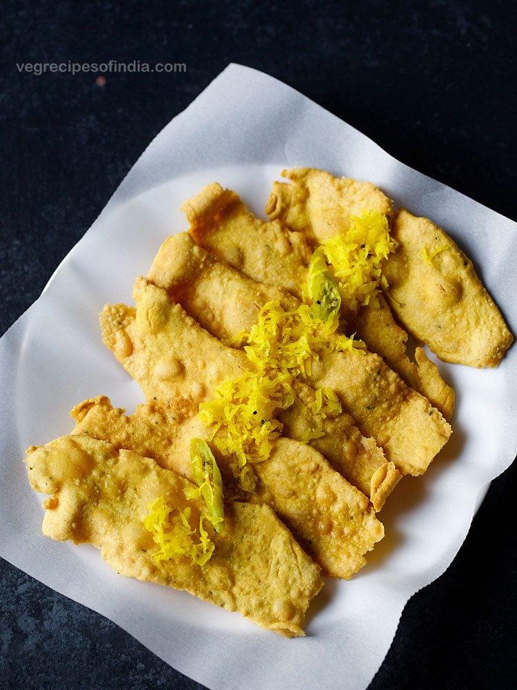 papaya sambharo recipe for fafda