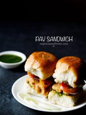 pav sandwich recipe