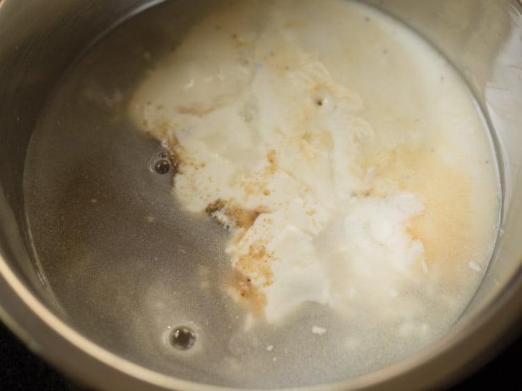 making eggless pineapple upside down cake recipe