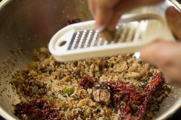 making veg xacuti recipe