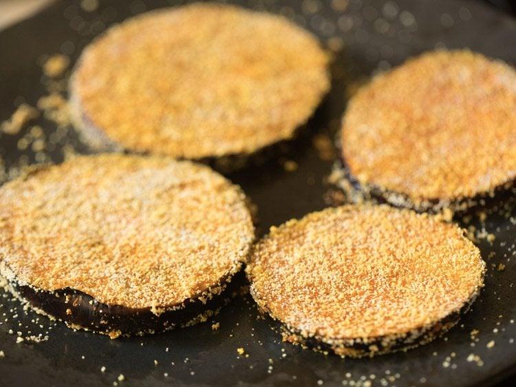 brinjal fry recipe, baingan fry recipe