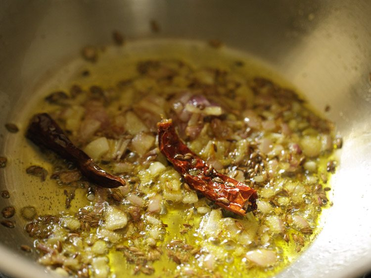 making chane ka saag recipe