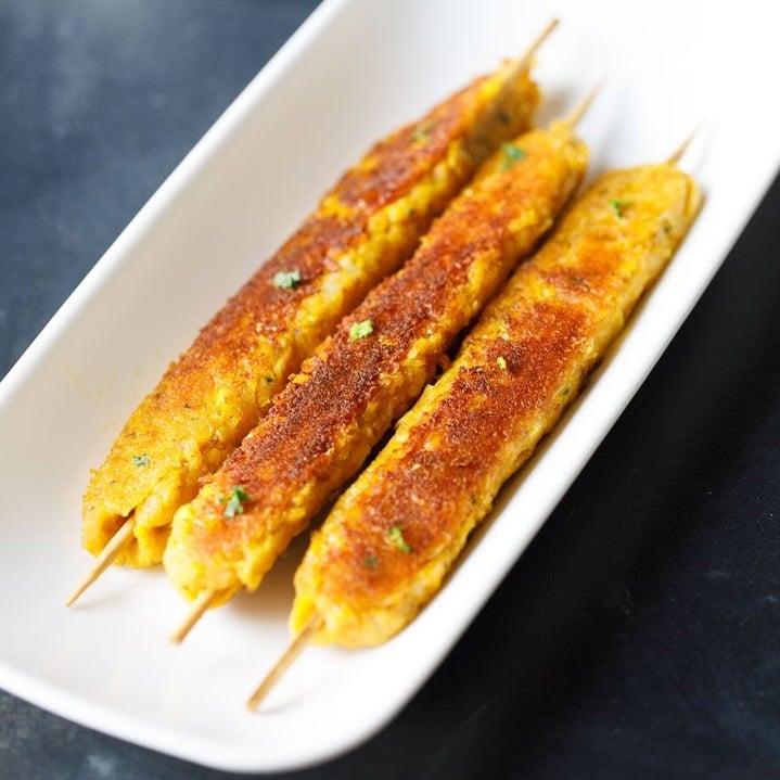 corn kabab recipe, sweet corn kebab recipe