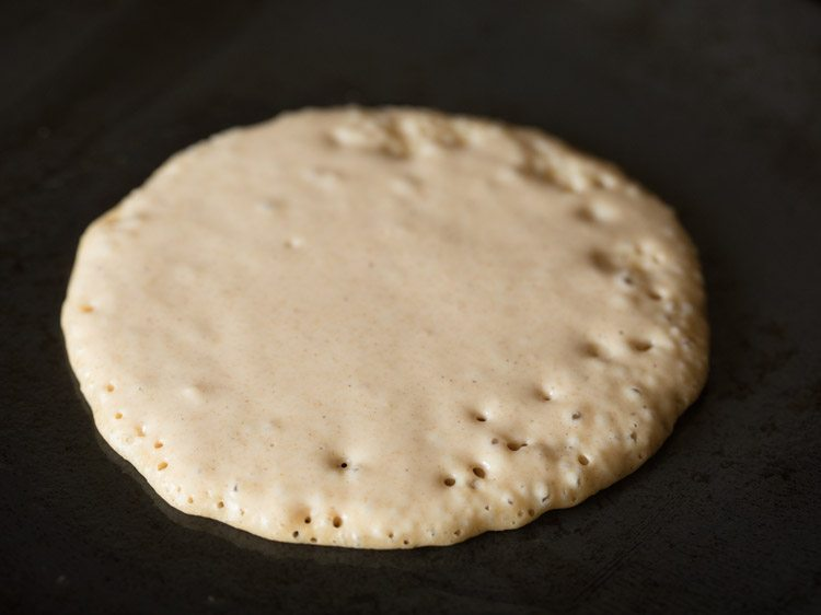 making eggless whole wheat pancakes