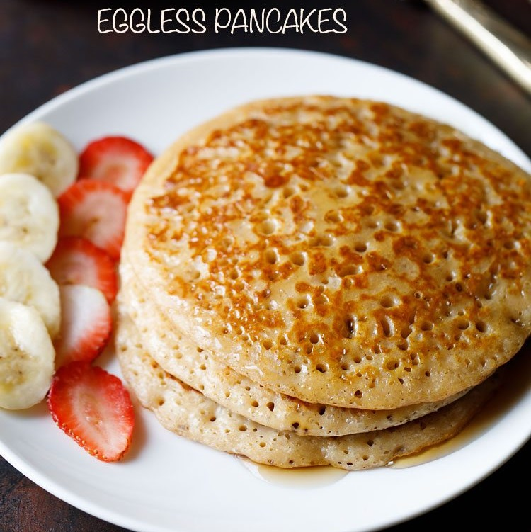 eggless pancake recipe, easy pancake recipe, best pancake recipe, fluffy pancake recipe