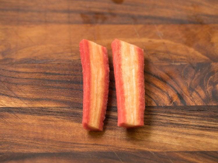 carrots for making carrot murabba recipe