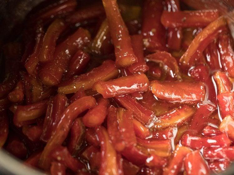 gajar murabba recipe, carrot murabba recipe