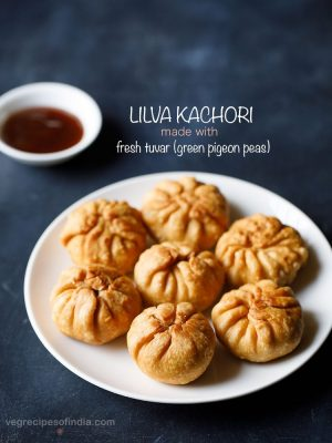 gujarati lilva kachori recipe