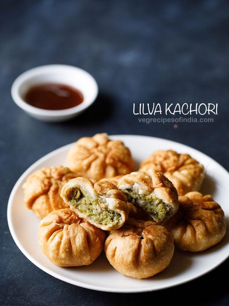 Gujarati lilva kachori recipe