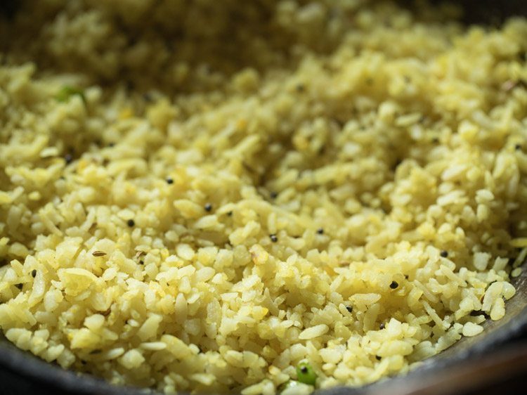 making indori poha recipe