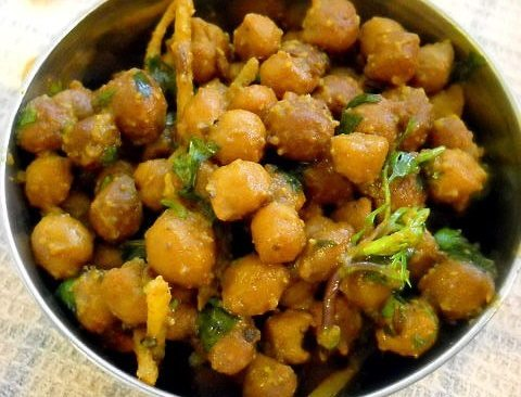 sookha kala chana recipe