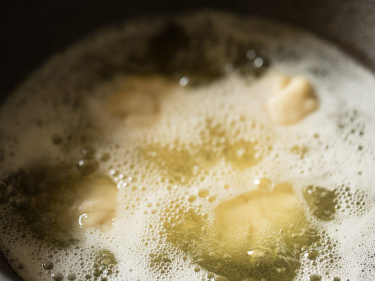 frying - gujaratililva kachori recipe