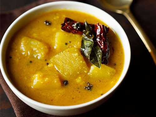 pumpkin sambar recipe