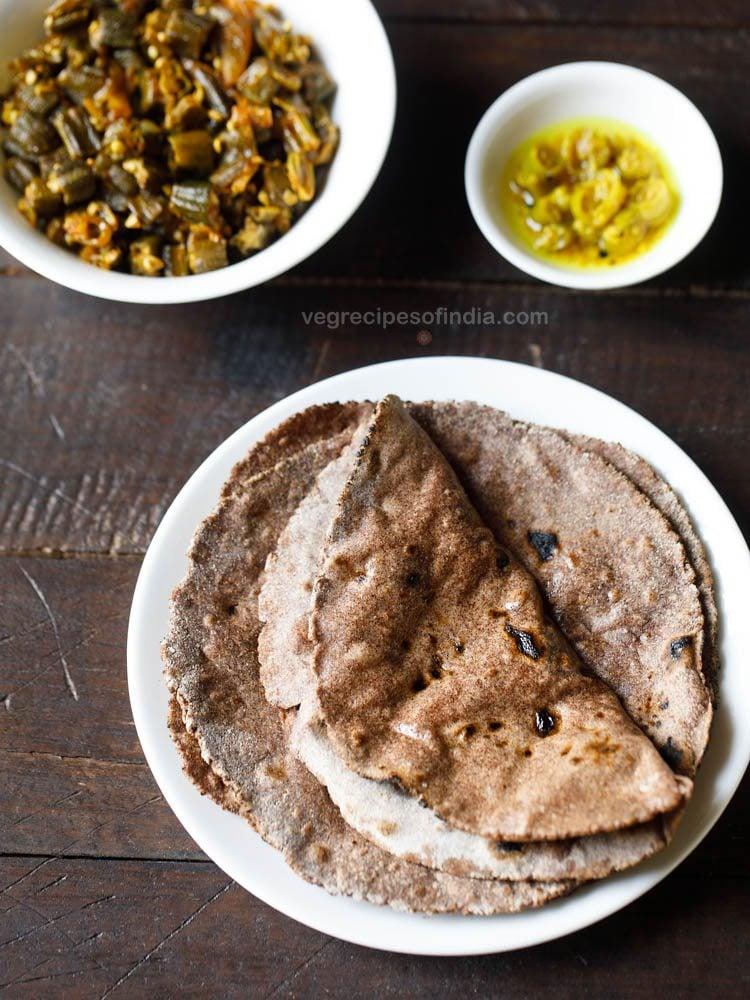 ragi bhakri recipe