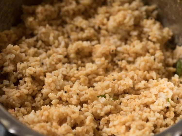 sesame rice recipe, til rice recipe, ellu sadam recipe