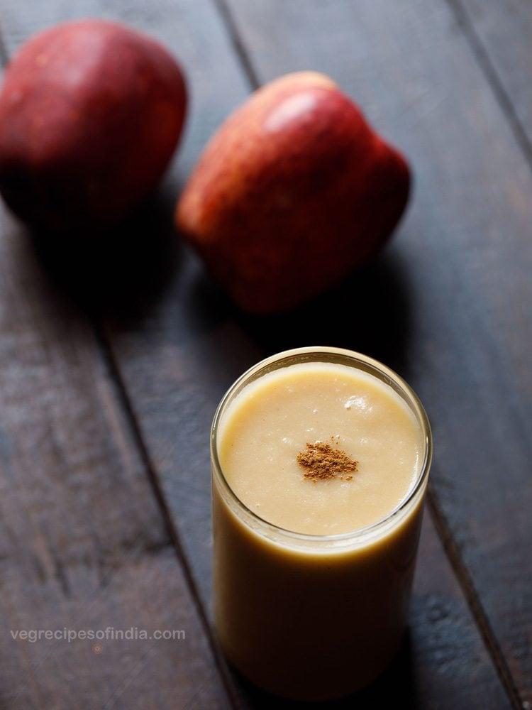 vegan apple smoothie recipe