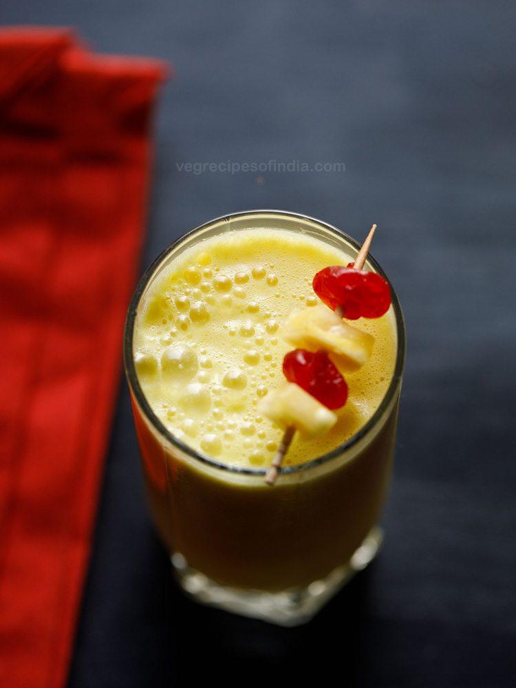 vegan pineapple smoothie recipe