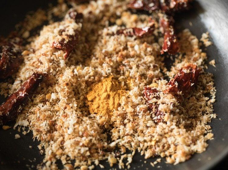 making peanut rice recipe