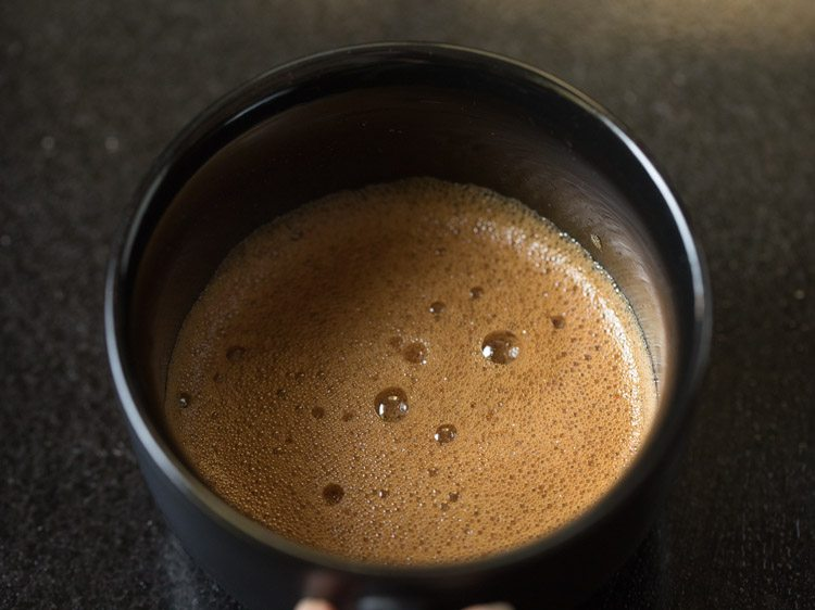 making cappuccino recipe with instant coffee