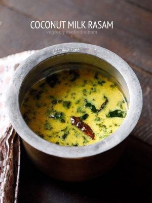 coconut milk rasam recipe