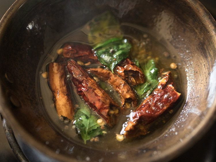 making thengai paal rasam recipe