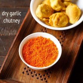 dry garlic chutney recipe