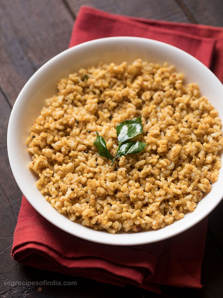 easy peanut rice recipe