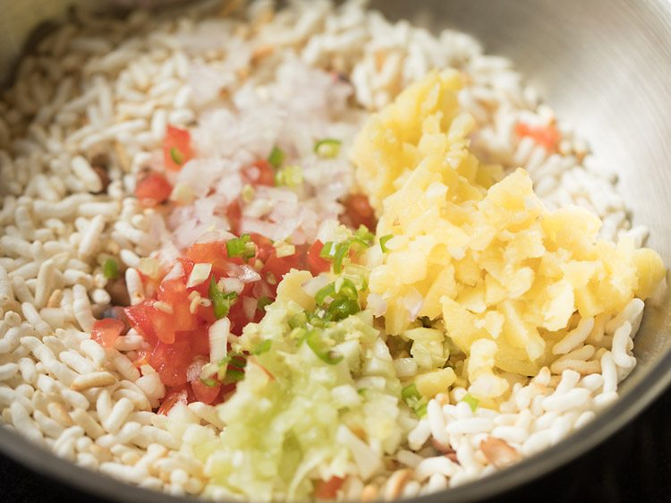 making jhal muri recipe